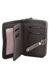 Wallet Leather Lancaster Gray soft vintage nova 120-60-vue-porte