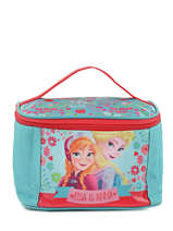 Beauty Case Frozen Blue elsa et anna 8813