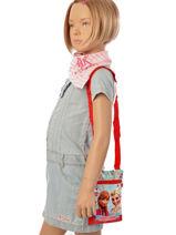 Crossbody Bag Mini Frozen Blue elsa et anna 8873-vue-porte