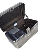Beauty Case Topas Titanium Rimowa Gray topas titanium 92338030-vue-porte