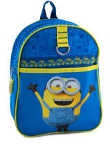 Sac A Dos Mini Minions Blue happy 6890