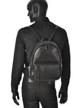 Backpack Francinel Black london city 5071-vue-porte