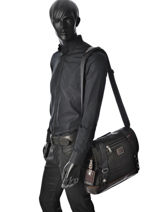 Crossbody Bag Tumi Brown alpha bravo DH22373-vue-porte