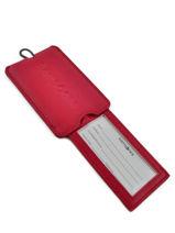 Luggage Tag Samsonite Red accessoires U23214-vue-porte