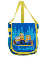 Crossbody Bag Minions Blue happy 16405
