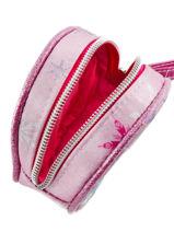 Purse Frozen Pink elsa et anna 46841-vue-porte