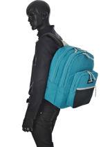 Backpack 2 Compartments Eastpak Blue k060-vue-porte