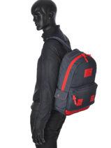 Sac à Dos 1 Compartiment Superdry Bleu backpack U91MD000-vue-porte
