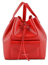Sac Bourse Pur Smooth Cuir Lancaster Rouge pur smooth 423-11