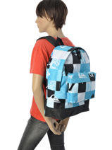 Sac à Dos 1 Compartiment Quiksilver Bleu backpacks YBP03140-vue-porte
