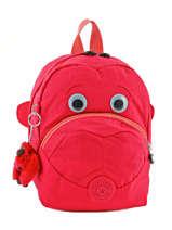 Backpack Mini Kipling Pink back to school 8568