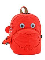 Sac à Dos Mini Kipling Orange back to school 8568