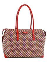Shoulder Bag Iconic Lancel Red iconic A07658