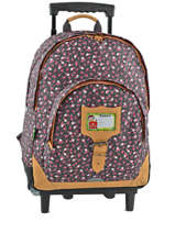 Sac A Dos A Roulettes 2 Compartiments Tann's Gray liberty 5LITSDL