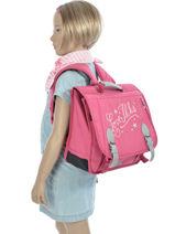 Satchel 1 Compartment Ikks Pink love ikks 5LOCA35-vue-porte