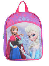 Sac à Dos 1 Compartiment Frozen Violet christal 13423