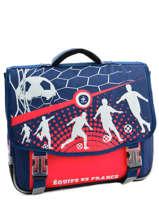 Satchel 2 Compartments Federat. france football Multicolor france 163F203S