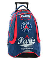 019d52a4c8 Sac à Dos à Roulettes 2 Compartiments Paris st germain Multicolore paris  163P204R ...