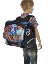 Cartable 2 Compartiments Paris st germain Multicolore paris 161P203S-vue-porte