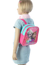 Backpack Mini Frozen Pink basic AST1412-vue-porte
