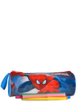 Kit 1 Compartment Spiderman Blue basic AST2246-vue-porte