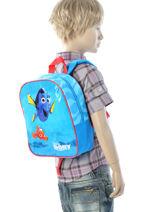 Backpack Dory Black dory et nemo 95647DOR-vue-porte