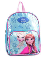 Backpack Reine des neiges Blue pyping 90410FAN