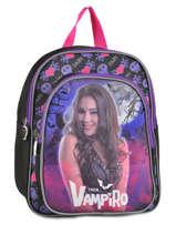 Backpack Chica vampiro Violet black pink 90656TMF