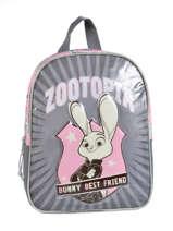 Sac A Dos Zootopia Gray bunny best friend 95947ZOF