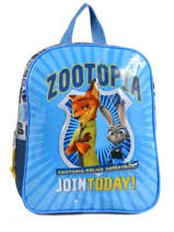 Sac à Dos Zootopia Bleu join today 95947ZOT