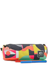 Trousse Rip curl Multicolore paola LUTEC4-vue-porte