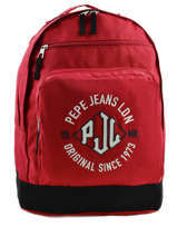 Backpack 2 Compartments Pepe jeans Red jackson 63924