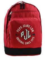 Sac à Dos 2 Compartiments Pepe jeans Rouge jackson 63924