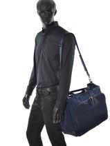 Bag Voyageur Tumi Blue voyageur 484705-vue-porte