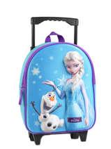 Wheeled Backpack Frozen Blue 3d 182-6952