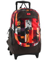 Sac A Dos A Roulettes Rip curl Rouge photo vibes BBPFJ4