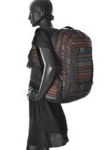 Backpack 2 Compartments Dakine Multicolor girl packs 1000-747-vue-porte