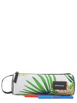 Trousse 1 Compartiment Quiksilver Multicolore back to school YAA03346-vue-porte