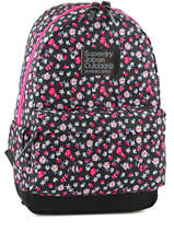 Sac A Dos 1 Compartiment Superdry Pink backpack girl G91003DF
