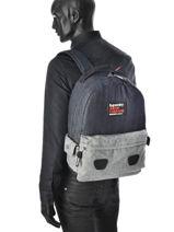 Sac à Dos 1 Compartiment Superdry Bleu backpack men U91009CN-vue-porte