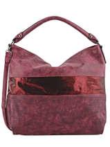 Hobo Bag Clarisse Miniprix Red clarisse K013