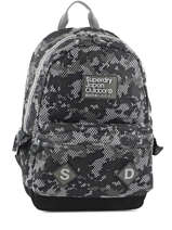Sac A Dos 1 Compartiment Superdry Gray backpack men U91001DN