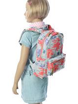 Backpack Mini Herschel Gray kids 10074-vue-porte