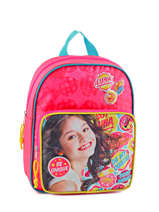 Sac à Dos 1 Compartiment Soy luna Multicolore be unique 95810SOY