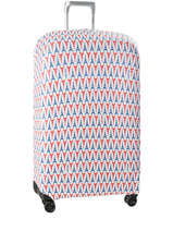 Suitcase Cover Delsey Blue covers up 3940181