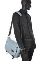 Crossbody Bag Eastpak Gray pbg authentic 0PBGK076-vue-porte