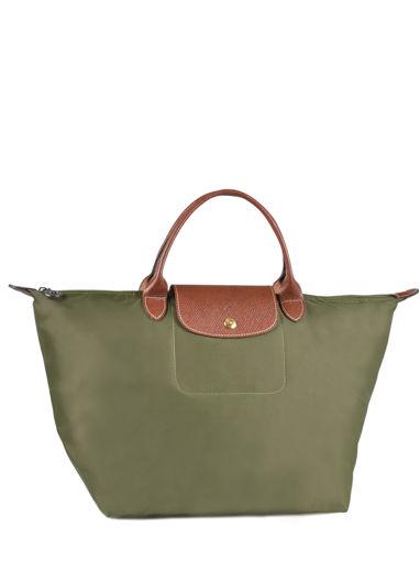 Longchamp Sacs porté main Vert