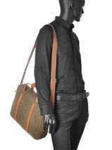 Briefcase Jost Brown farum 1383-vue-porte