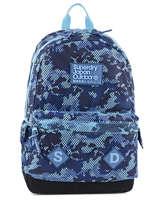Backpack 1 Compartment Superdry Blue backpack men U91001DN