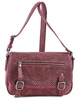 Shoulder Bag People Fuchsia Red people F9639-1